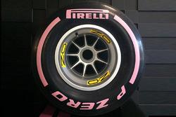 Pneu Pirelli ultratendre rose