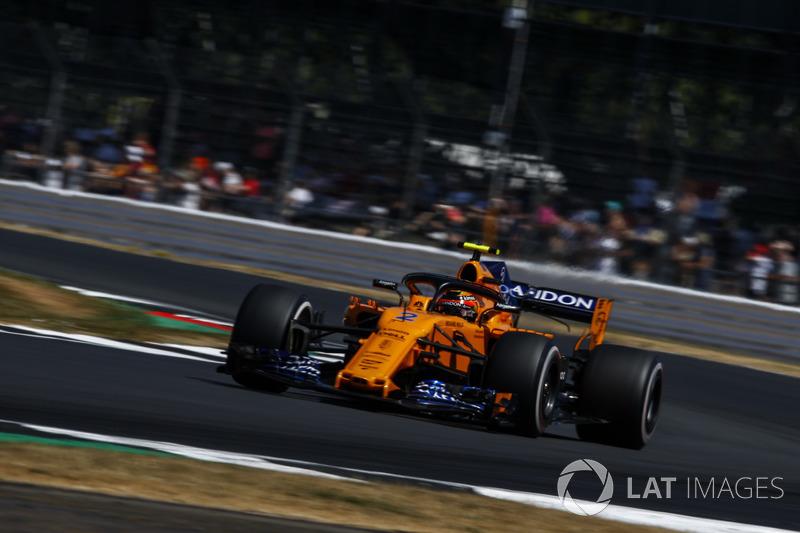 5º Stoffel Vandoorne, McLaren MCL33 (578 vueltas)