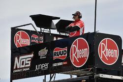 Ryan Preece, Joe Gibbs Racing, Toyota Camry Rheem crew chief Eric Phillips