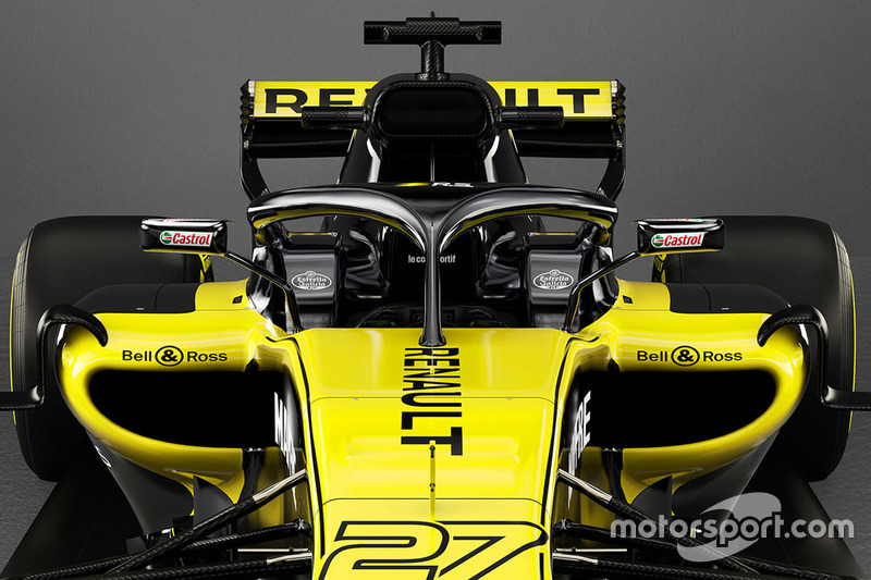 Halo de la Renault F1 Team RS18