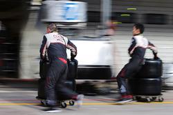 Toyota Gazoo Racing mechanics