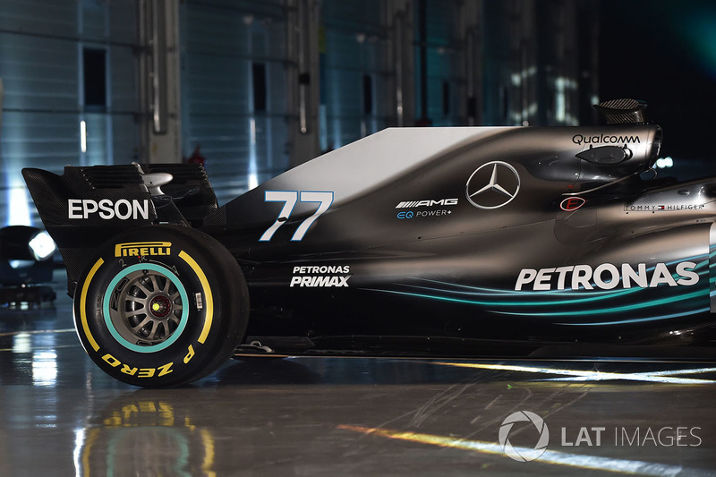 Mercedes AMG F1 W09 rear detail