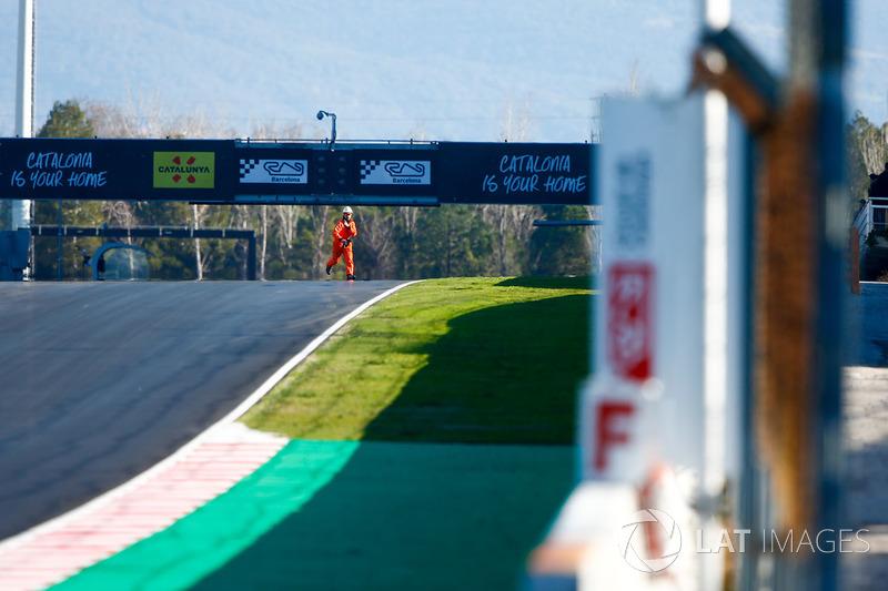 Marshall on the track