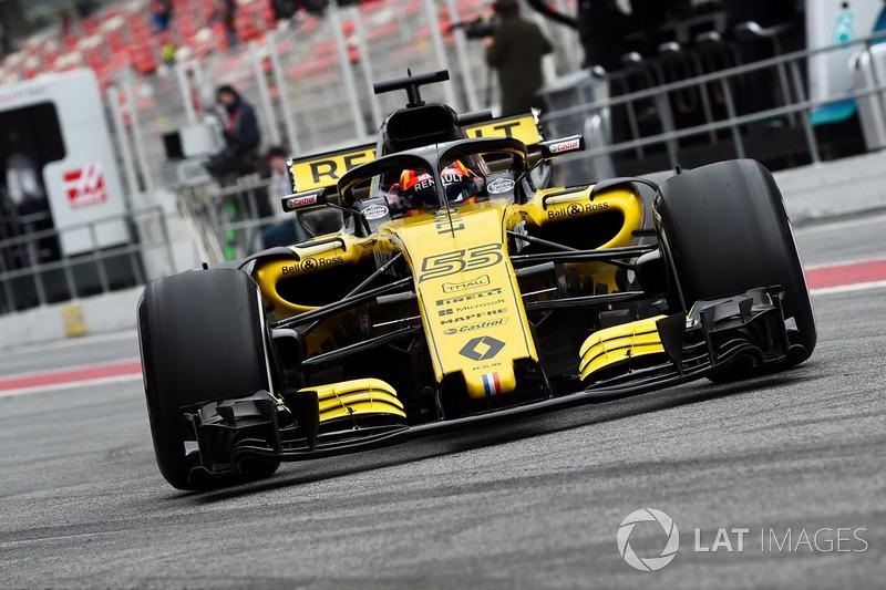 Карлос Сайнс, Renault