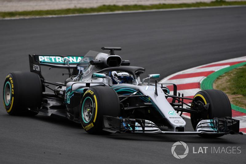2018: Mercedes AMG F1 W09