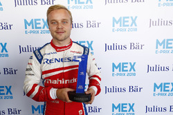 Felix Rosenqvist, Mahindra Racing, on pole position