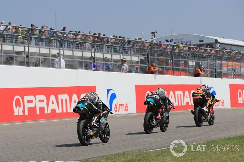 Raul Fernandez, Angel Nieto Team, Ayumu Sasaki, Petronas Sprinta Racing, Adam Norrodin, Petronas Sprinta Racing