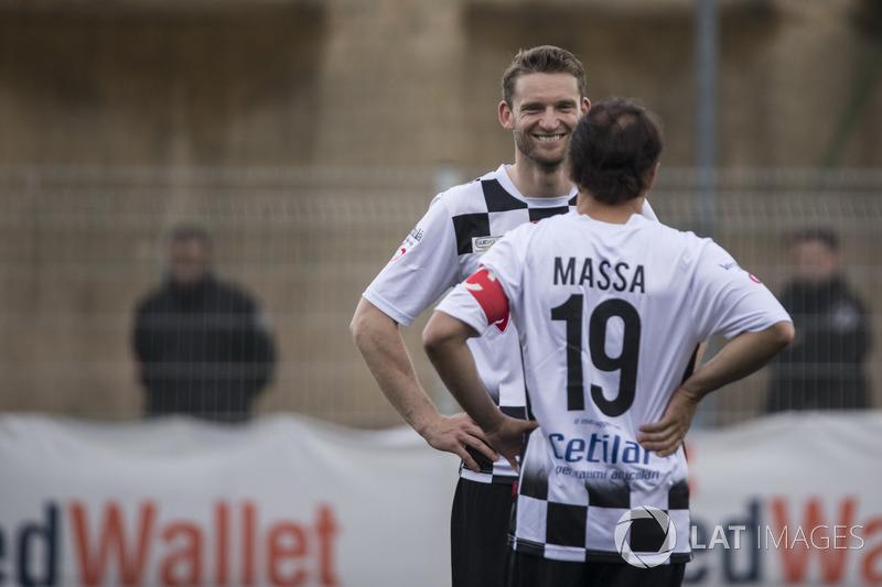 Maro Engel, and Felipe Massa