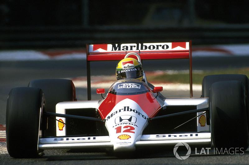 1988 Almanya: McLaren MP4/4