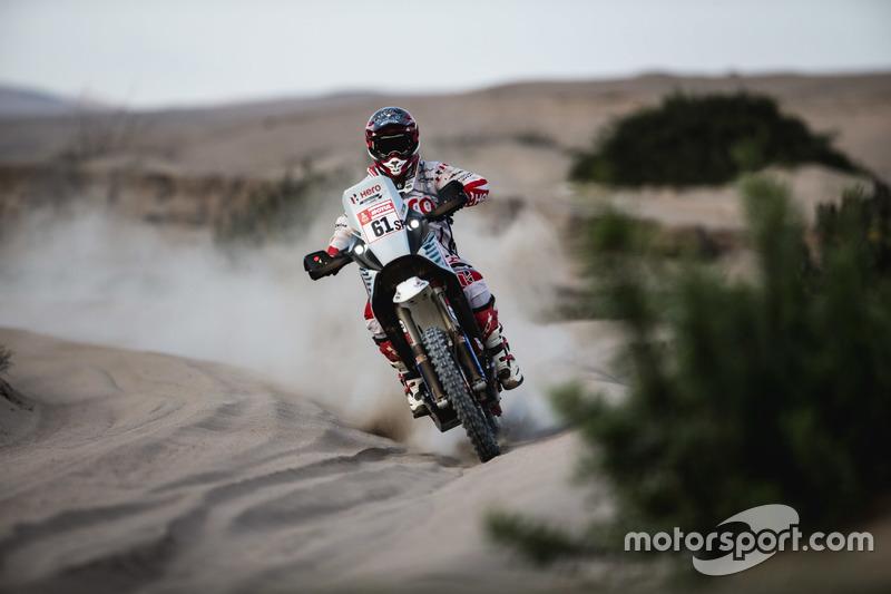#61 Hero MotoSports Team Rally: Оріоль Мена