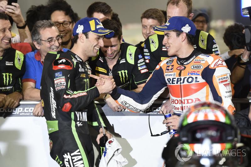 Володар поул-позиції Жоанн Зарко, Monster Yamaha Tech 3, друге місце Марк Маркес, Repsol Honda Team