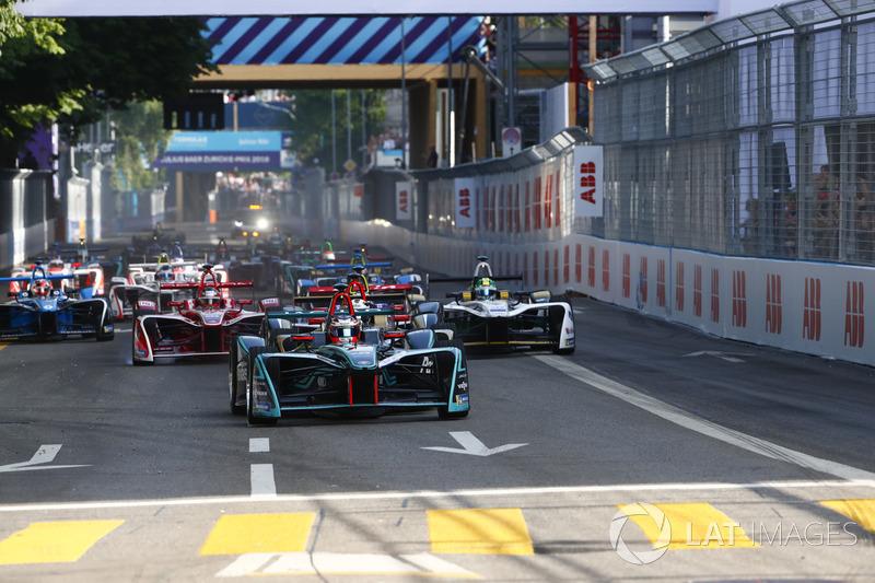 Mitch Evans, Jaguar Racing, Andre Lotterer, Techeetah, Sam Bird, DS Virgin Racing