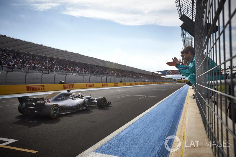 GP de Francia: Lewis Hamilton