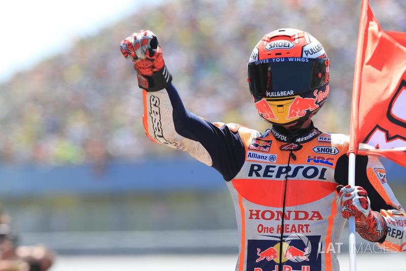 Yarış galibi: Marc Marquez, Repsol Honda Team