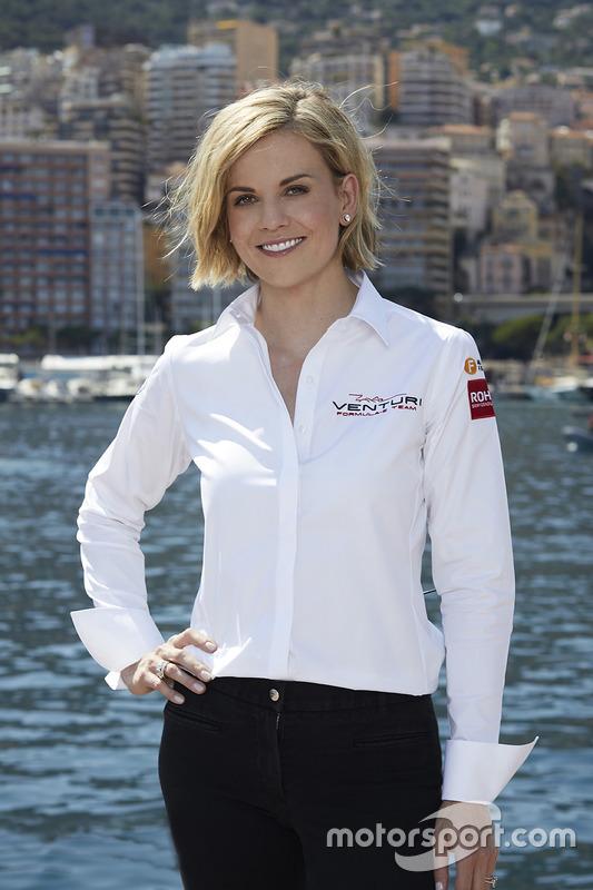 Susie Wolff, jefa de equipo de Venturi Formula E Team