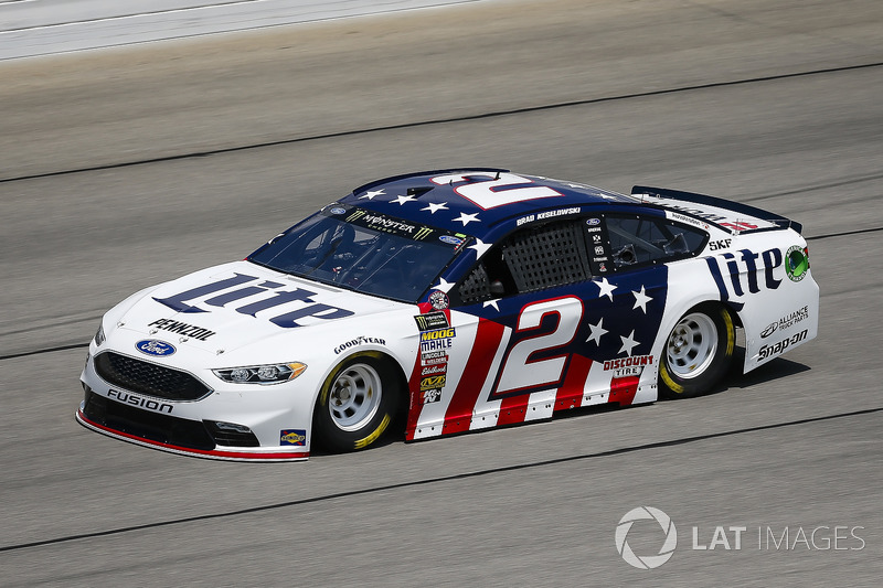 7. Brad Keselowski, Team Penske, Ford Fusion Stars, Stripes, and Lites