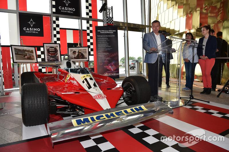 La Ferrari T3 gagnante de Gilles Villeneuve