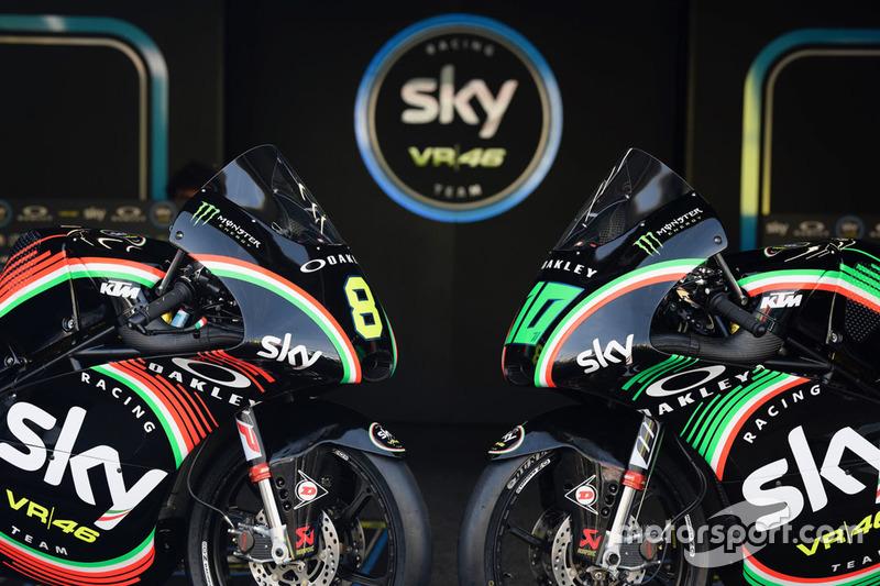 Dennis Foggia, Sky Racing Team VR46, Nicolo Bulega, Sky Racing Team VR46, special liveries