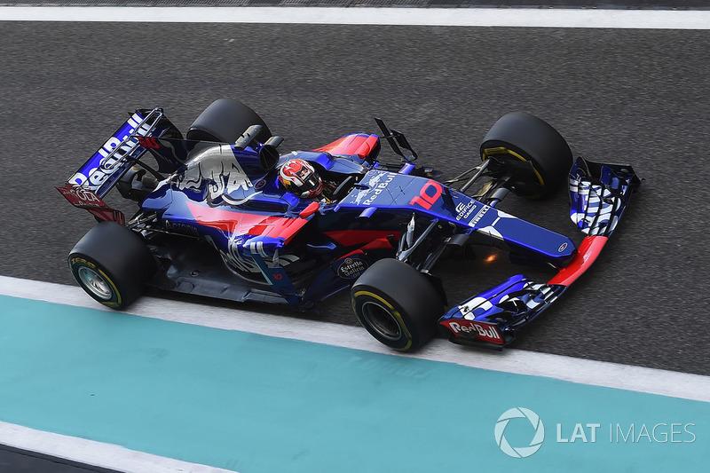 Pierre Gasly, Scuderia Toro Rosso STR12 (0 abandonos en 5 carreras)