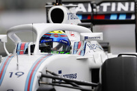 Felipe Massa, Williams FW38 Mercedes, avec le Halo