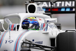 Felipe Massa, Williams FW38 Mercedes, con el Halo