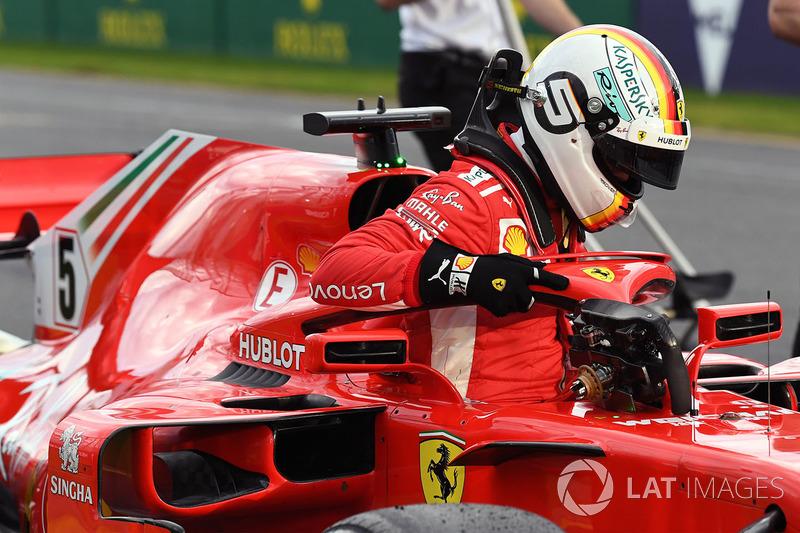 Sebastian Vettel dominou o último treino livre, mas larga em terceiro