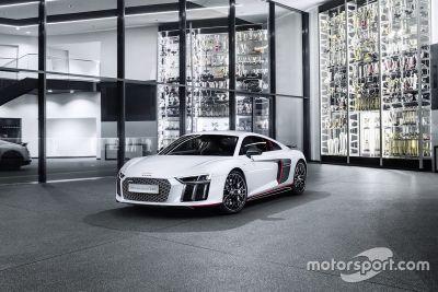 Présentation de l'Audi R8 V10 plus selection 24h