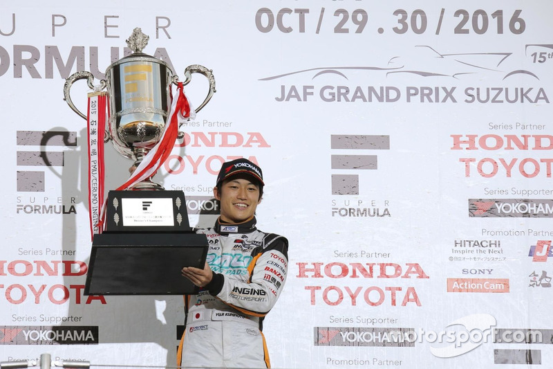 Super Formula: Yuji Kunimoto, Cerumo Inging