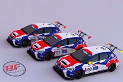BF Motorsport, Seat Leon TCR, Render