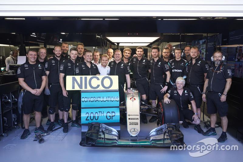 Nico Rosberg - 206 Grands Prix