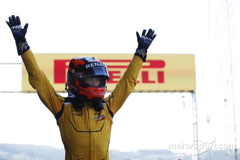 Yarış galibi Jack Aitken, Arden International