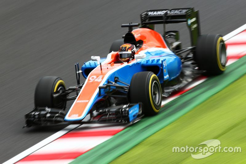 22. Pascal Wehrlein, Manor Racing MRT05