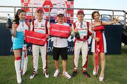 #15 Drago Modulo Honda Racing Honda NSX Concept-GT: Hideki Mutoh, Tadasuke Makino