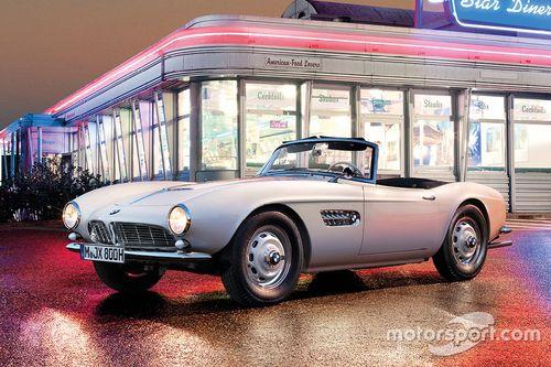 Il restauro della BMW 507 di Elvis