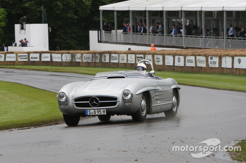 Stirling Moss, Mercedes 300SLS