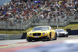 #7 Bentley Team ABT, Bentley Continental GT3: Daniel Abt, Jordan Lee Pepper