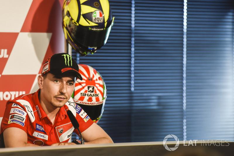 Conferencia de prensa, Valentino Rossi, Jorge Lorenzo, Ducati Team