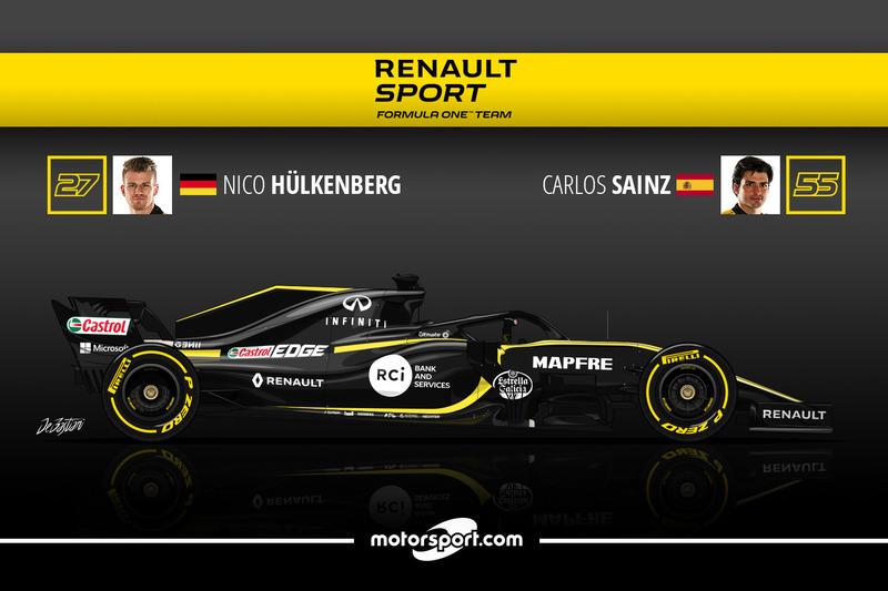 Nico Hulkenberg 9 Carlos Sainz 8