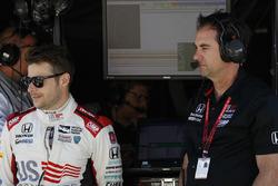 Marco Andretti, Herta - Andretti Autosport Honda, mit Bryan Herta