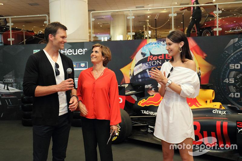 Гран При Монако: игрок в американский футбол Том Брэди и топ-модель Белла Хадид
