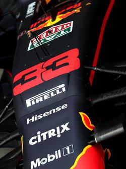 Neus van de Red Bull Racing RB13