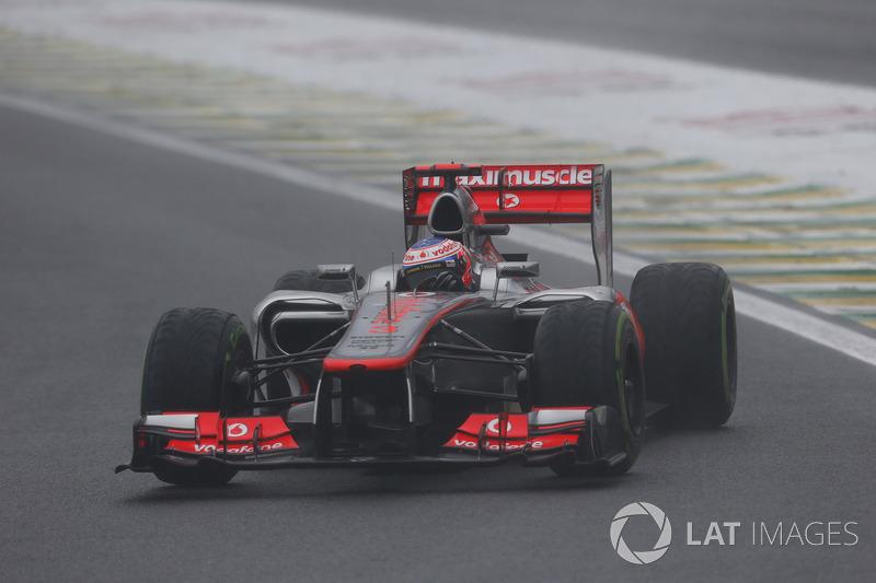 2012: Jenson Button, McLaren-Mercedes MP4-27