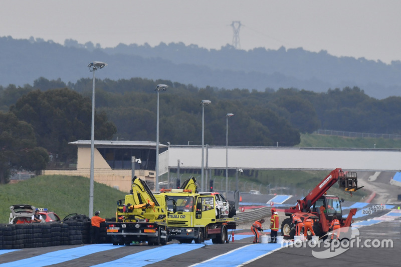 Igor Stefanovski, Stefanovski Racing Team Hyundai i30 N TCR after the crash