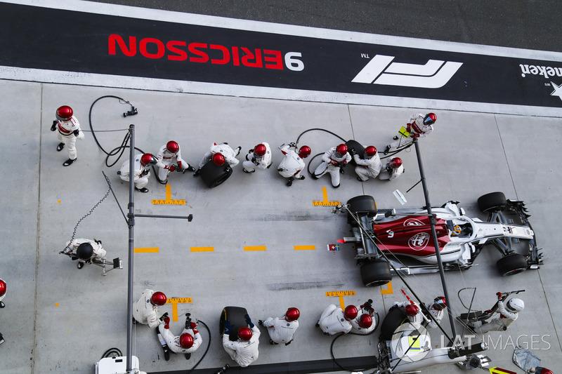 21 місце — Маркус Ерікссон, Sauber — 2