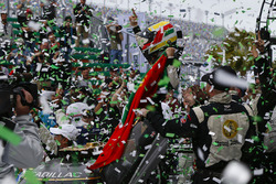 #5 Action Express Racing Cadillac DPi, P: Joao Barbosa, Christian Fittipaldi, Filipe Albuquerque, Celebrate the Rolex 24 Win