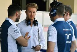 Nico Rosberg, ambassadeur Mercedes-Benz et des mécaniciens Williams