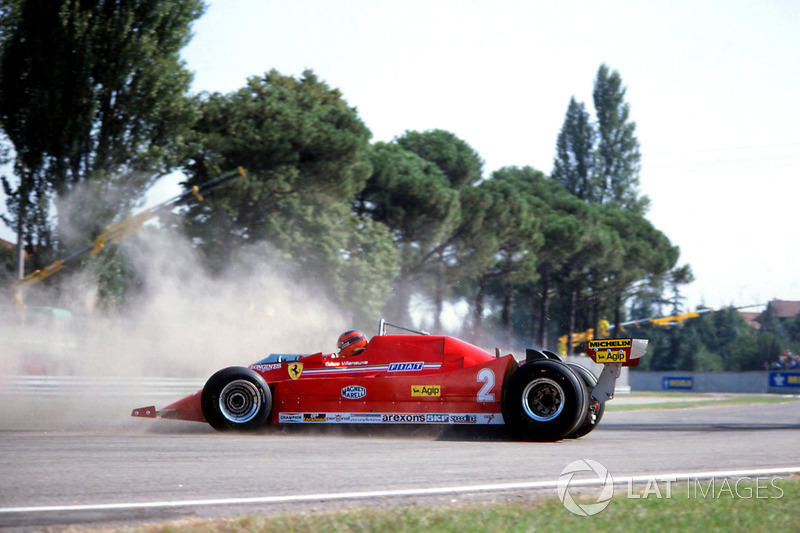 Dreher: Gilles Villeneuve, Ferrari 126C