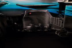 Mercedes AMG F1 W08 sidepods detail