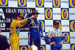 Podium: 1. Alain Prost, Williams; 2. Michael Schumacher, Benetton; 3. Martin Brundle, Ligier
