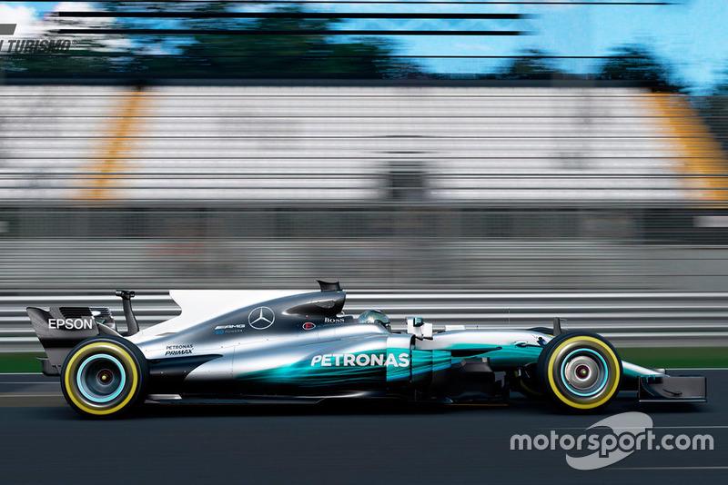 Mercedes-AMG F1 W08 EQ Power+ 2017